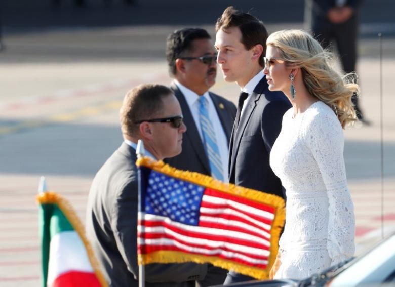 外媒報導,北京當局已邀請美國總統川普的女兒伊凡卡和女婿庫許納於今年下半年訪問中國...