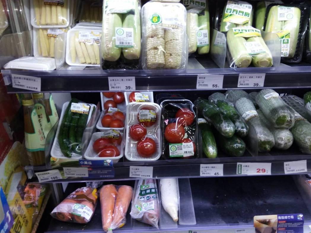一家全國知名的連鎖大賣場販售的番茄,被雲林、南投縣政府抽驗驗出殘留農藥量超標及未...