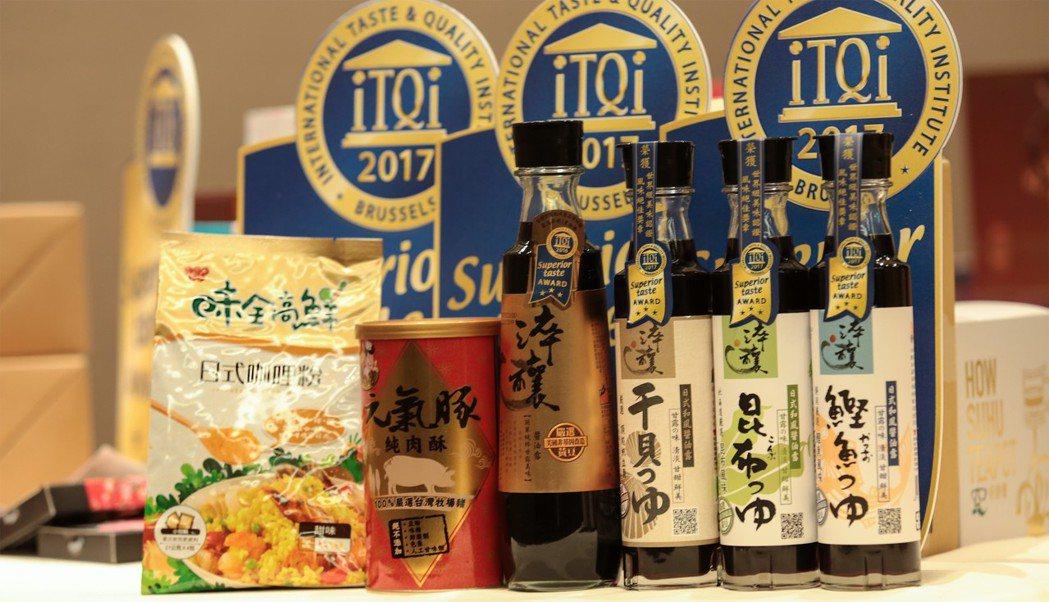 味全產品品質與風味俱佳 摘下iTQi共14顆星
