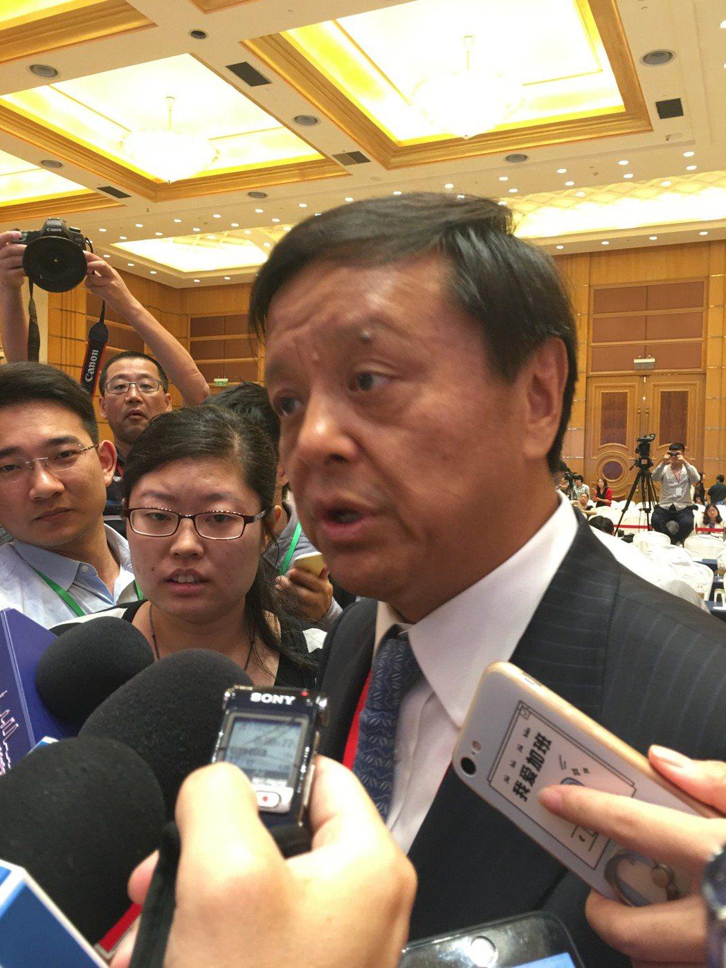 香港交易及結算有限公司集團行政總裁李小加。特派記者林則宏/攝影