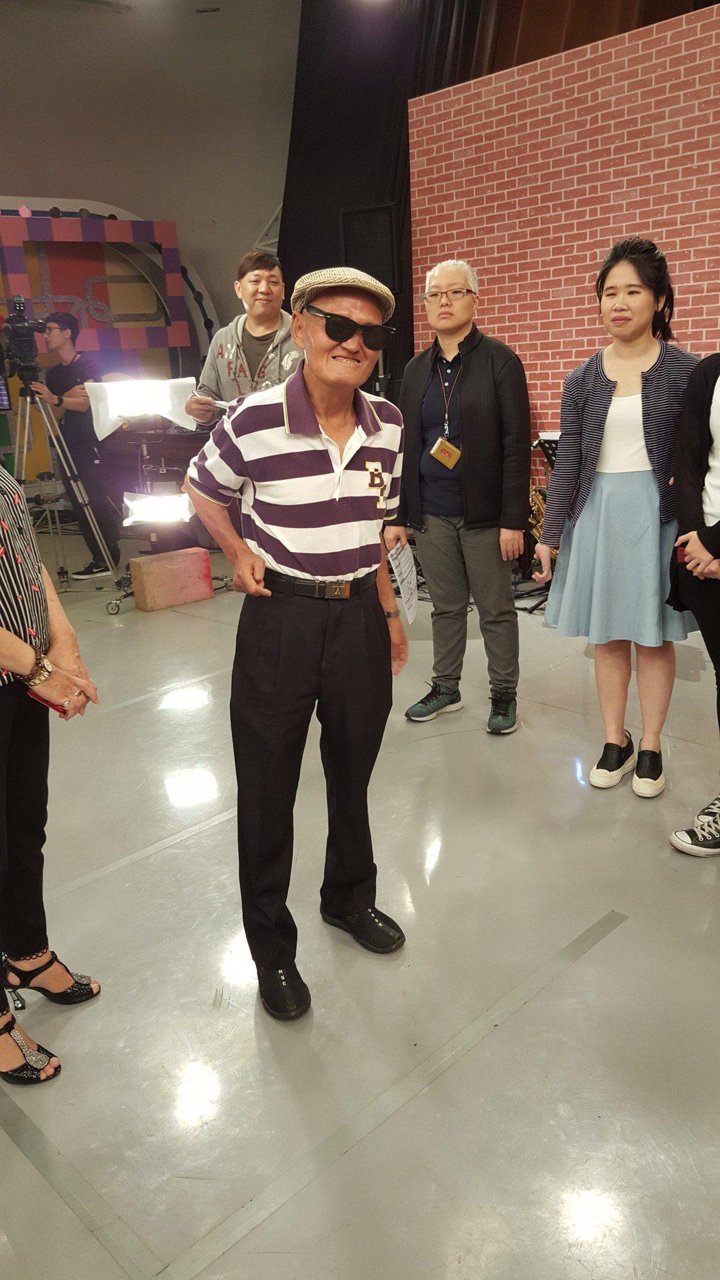 李炳輝今錄中視「冰冰show」。記者林怡秀/攝影