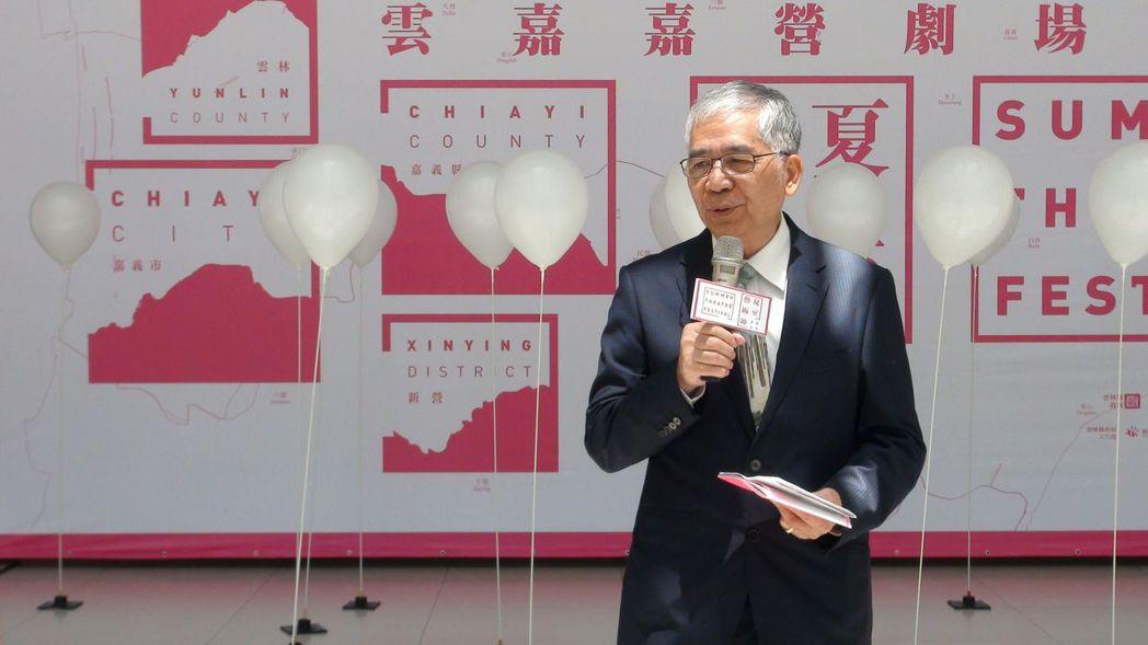 嘉義市副市長張惠博邀請全國民眾來嘉義市作客。記者王慧瑛/攝影