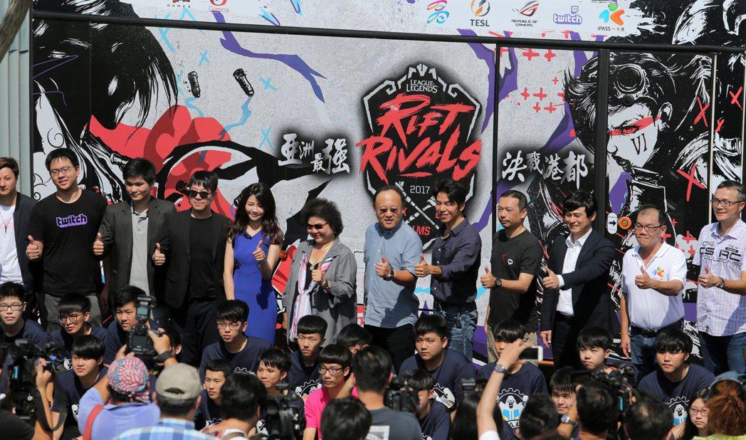 電競界年度大事「英雄聯盟」亞洲對抗賽,將於7月6日起在高雄展開為期4天的大戰,主...