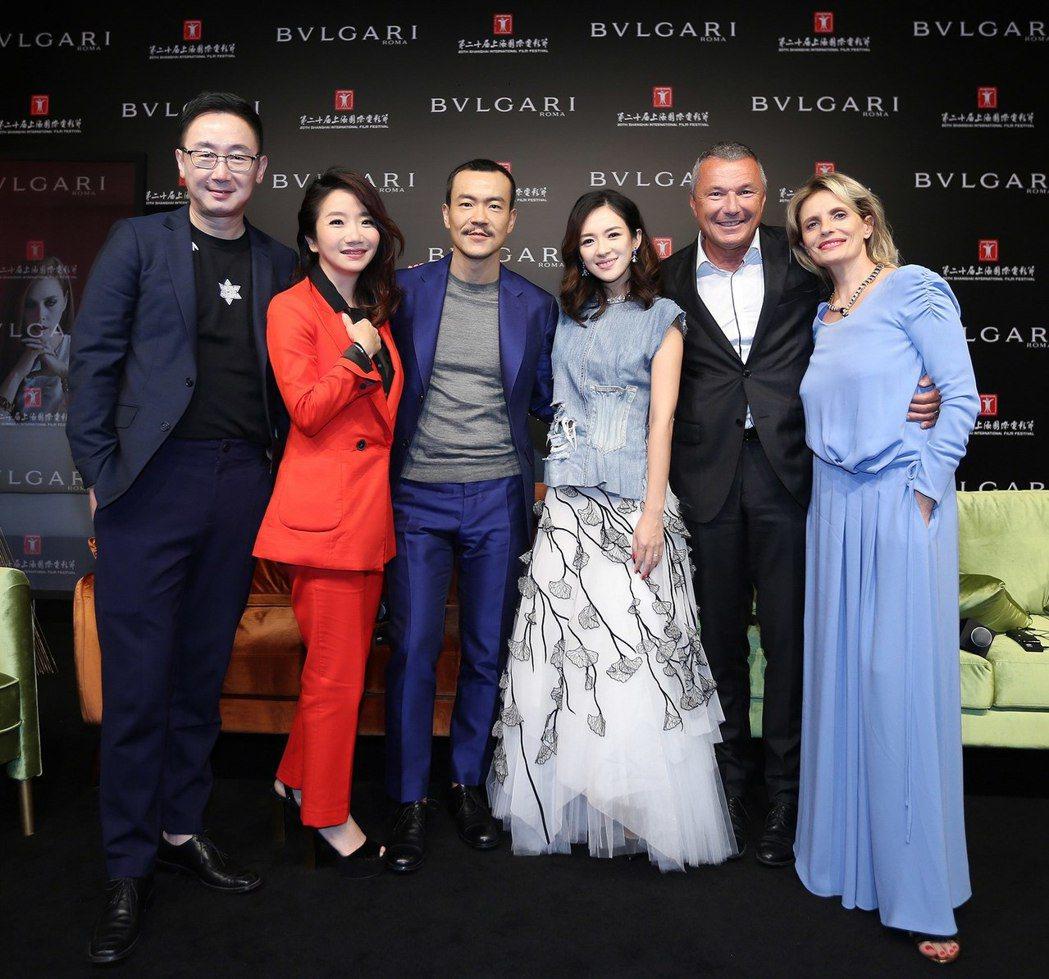 寶格麗中義電影中的生活美學文化交流講座。圖/BVLGARI提供