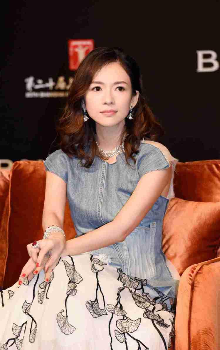 影后章子怡出席中義電影中的生活美學講座。圖/BVLGARI提供