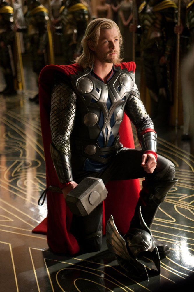 克里斯漢斯沃演「雷神索爾」第一集的片酬只有15萬美元。圖/摘自imdb