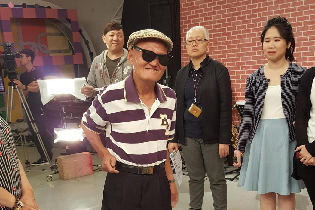 李炳輝昨(21日)錄中視「冰冰show」。記者林怡秀/攝影