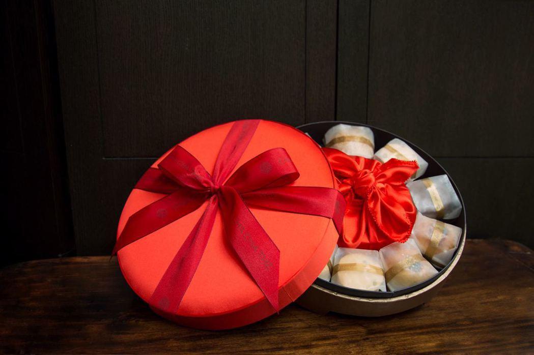 安以軒台北婚禮喜餅。圖/安以軒工作室提供