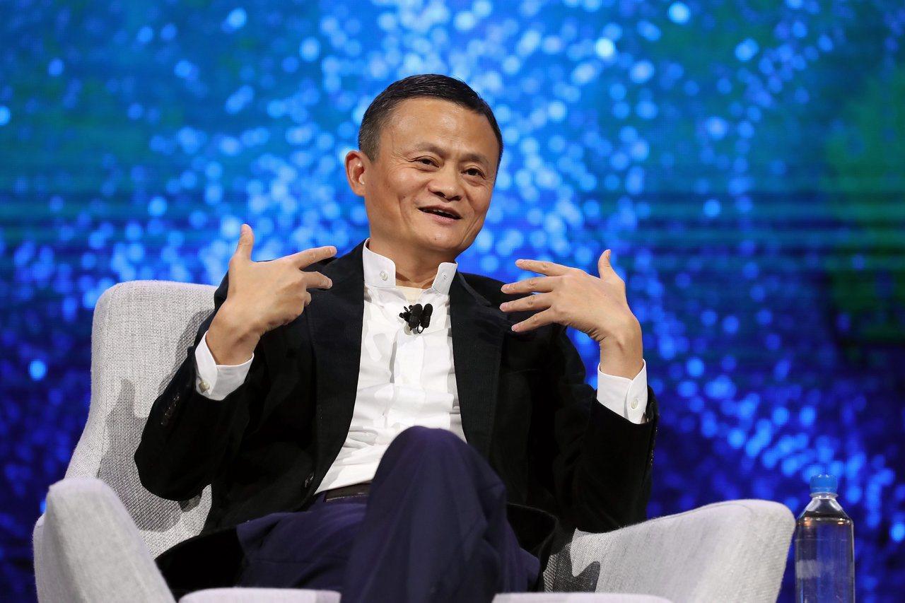 阿里巴巴集團董事局主席馬雲。 新華社
