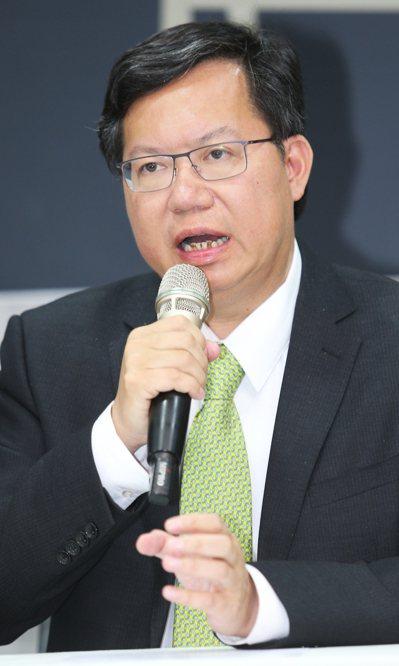 桃園市長鄭文燦。 本報系資料照