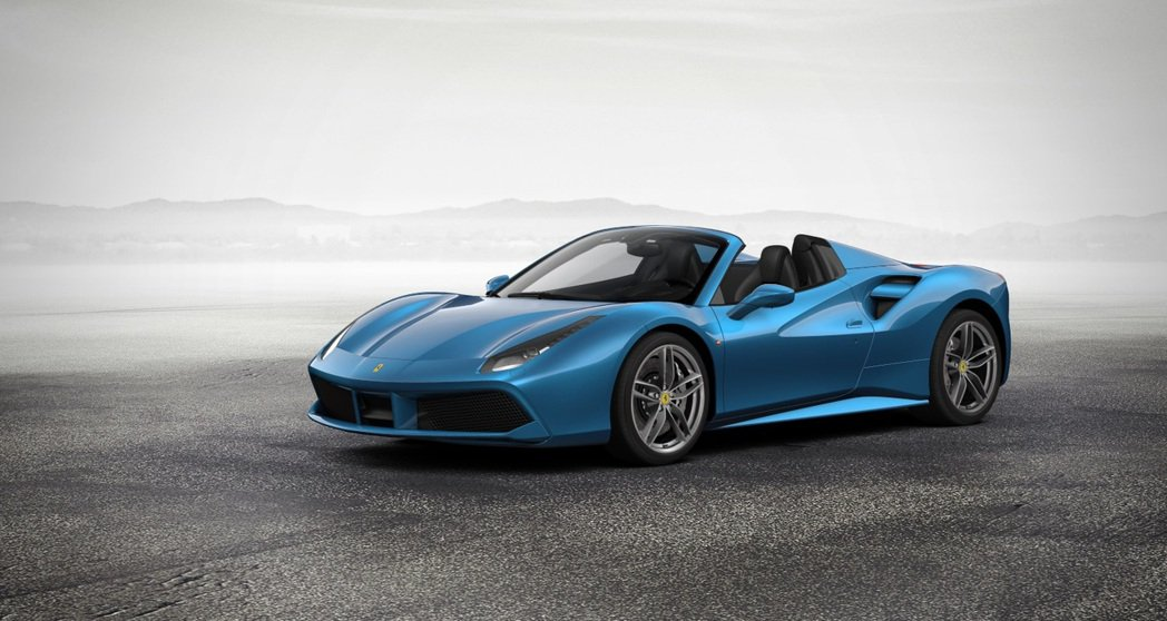 Ferrari 488 Spider搭載的3.9L 雙渦輪增壓V8引擎獲得年度引...