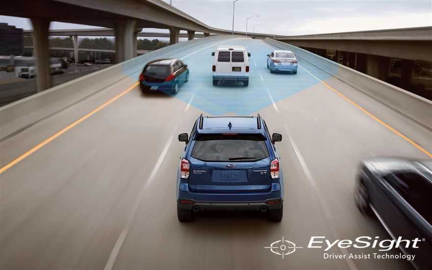 EyeSight圖示。 摘自Subaru