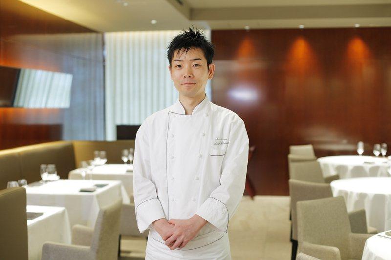 米其林三星法國餐廳Quintessece主廚。