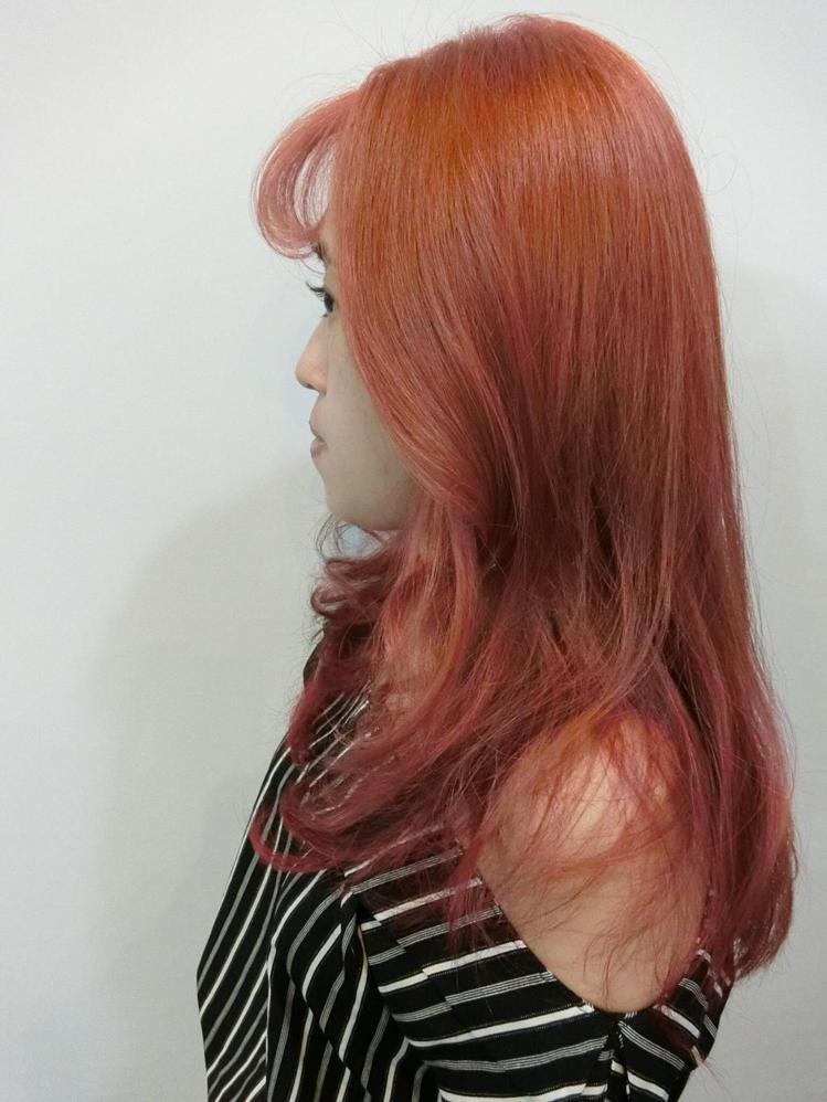 髮型創作/諾亞藝術造型 裕民店 - 諾亞GIgi 呂姿瑩 。圖/HairMap美...