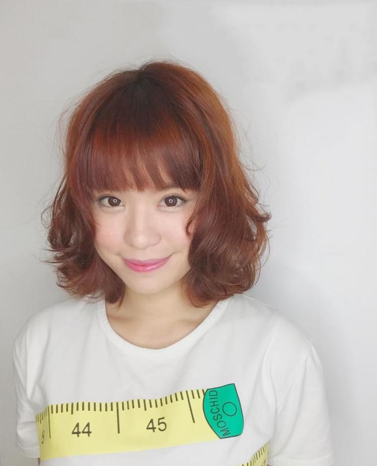 髮型創作/ happyhair師大店 - Mei Mei Melody Hu。圖...