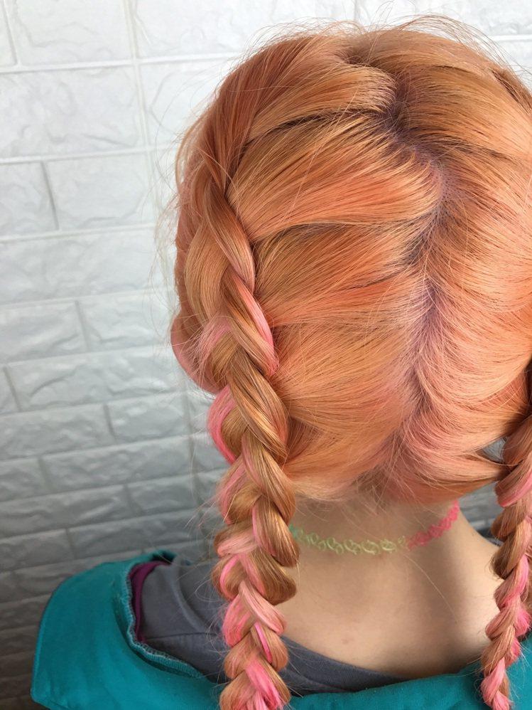 髮型創作/后起Hair Styling - Queena。圖/HairMap美髮...