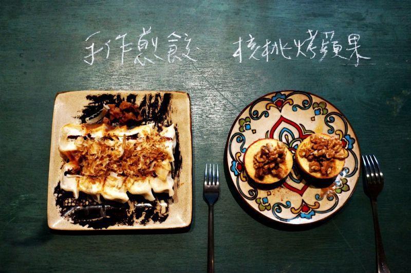 飲食品項簡單,不使用廚房,是為了讓老屋有休息的時間。(林郁姍/攝)