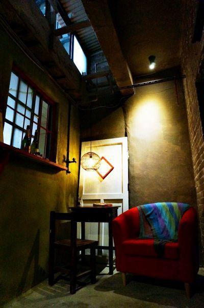 天井是Fion最愛的角落。(林郁姍/攝)