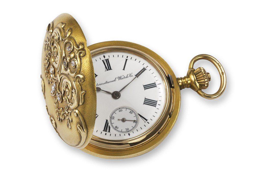 1909年的SAVONNETTE 女士懷錶。圖/萬國表提供