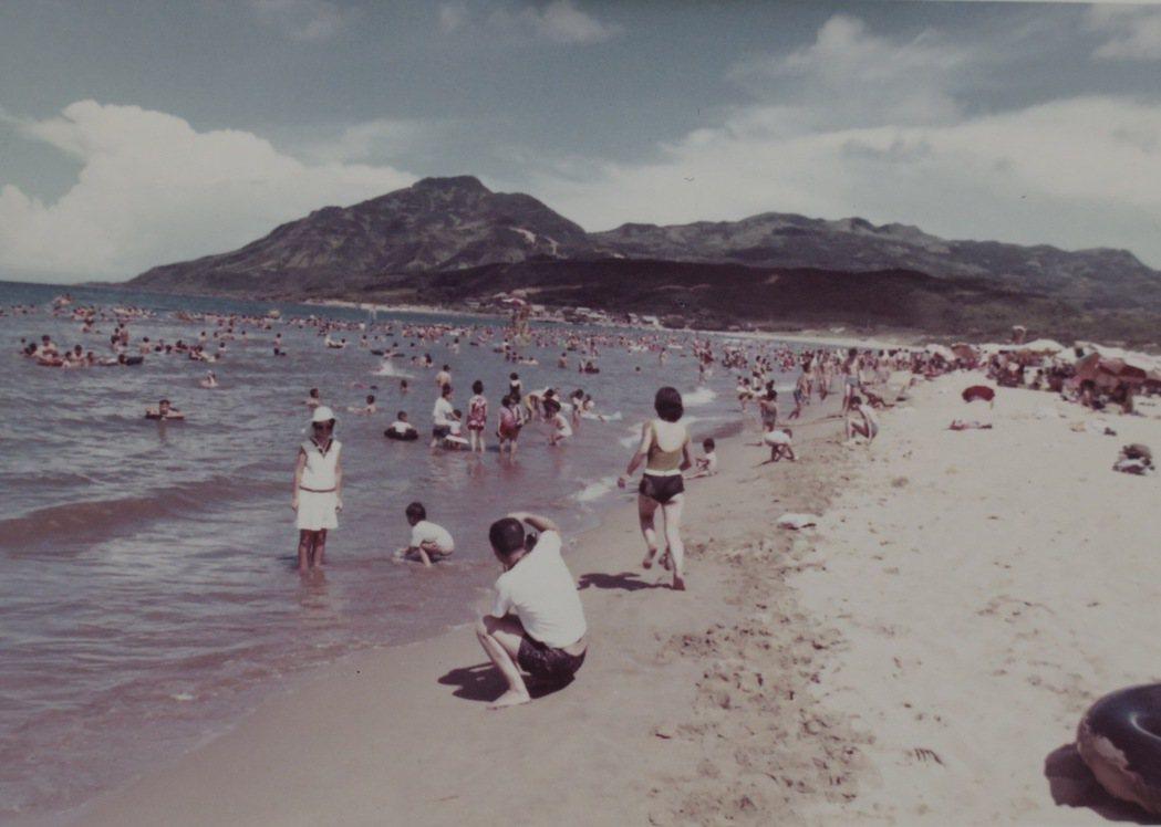 福隆海水浴場老照片。圖/福容飯店提供
