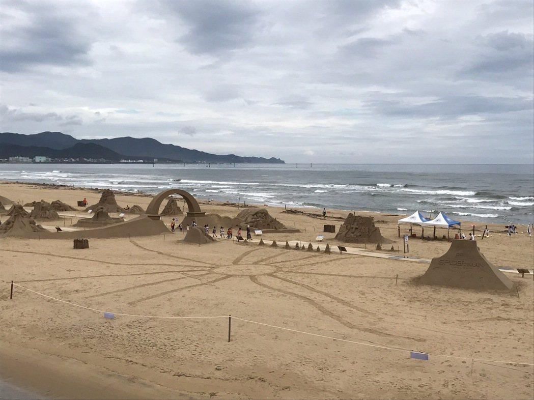 60秒沙雕畫慶祝60歲生日。圖/福容飯店提供
