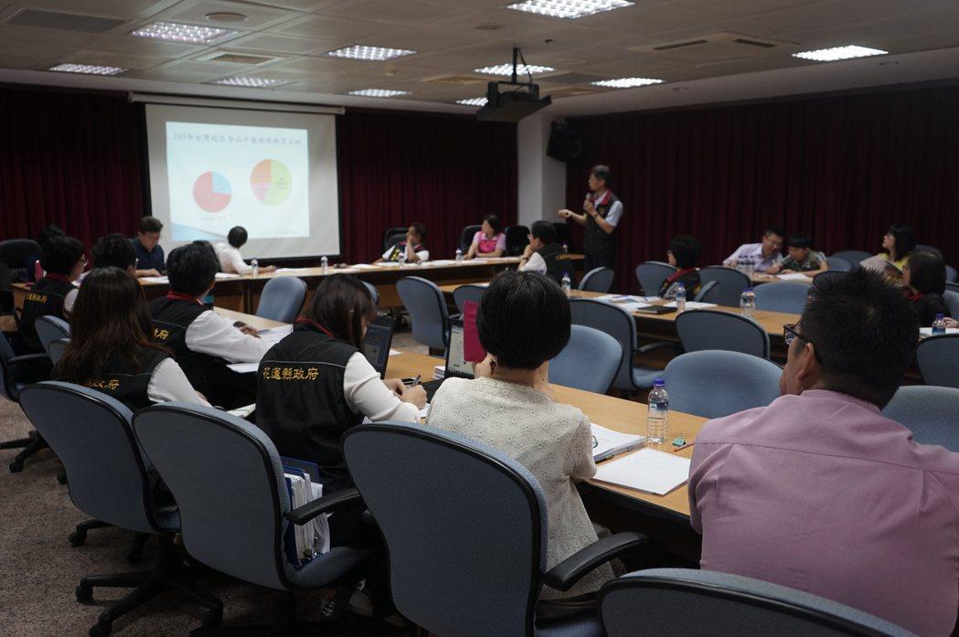 花蓮縣議會組成專案小組,今天邀衛生局和教育處報告調查結果。記者王燕華/攝影