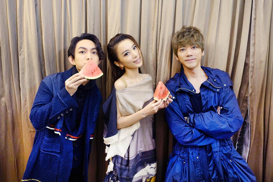 林宥嘉、田馥甄和信,囊括Music Radio中國Top排行榜三大獎。圖/華研提