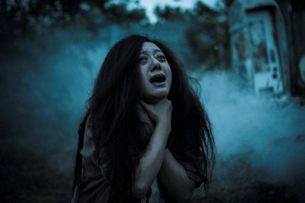高慧君在「紅衣小女孩2」有駭人的演出。圖/威視提供