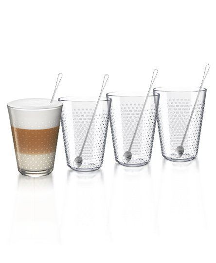 Ritual Recipe玻璃杯組。圖/Nespresso提供