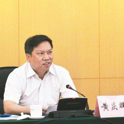 海絲博覽會執行秘書長、東莞市副市長黃慶輝致辭。 圖/東莞市政府提供