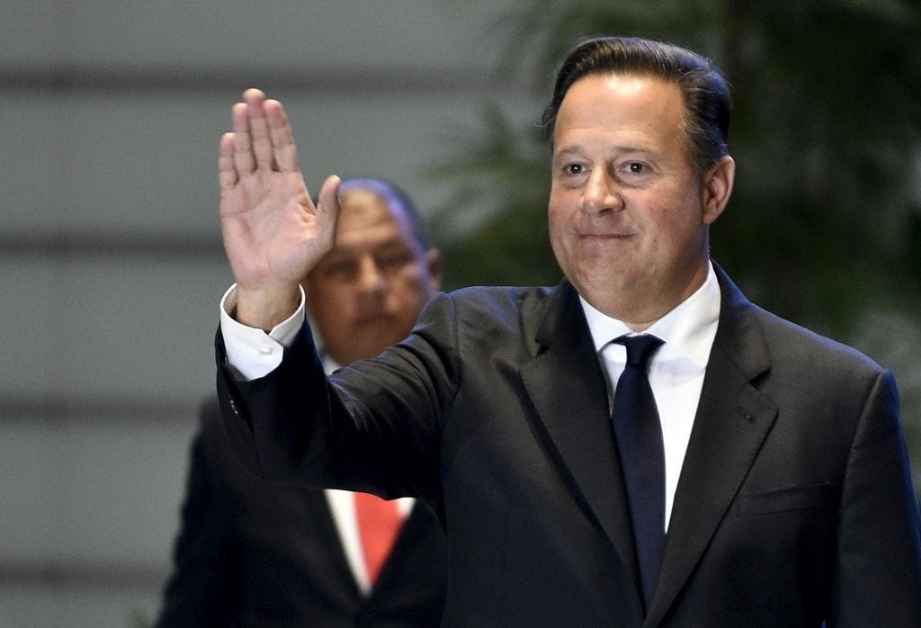 巴拿馬總統瓦雷拉(圖)在美國華府說,曾告訴台灣最高層級的外交官以及訪問巴拿馬的總...