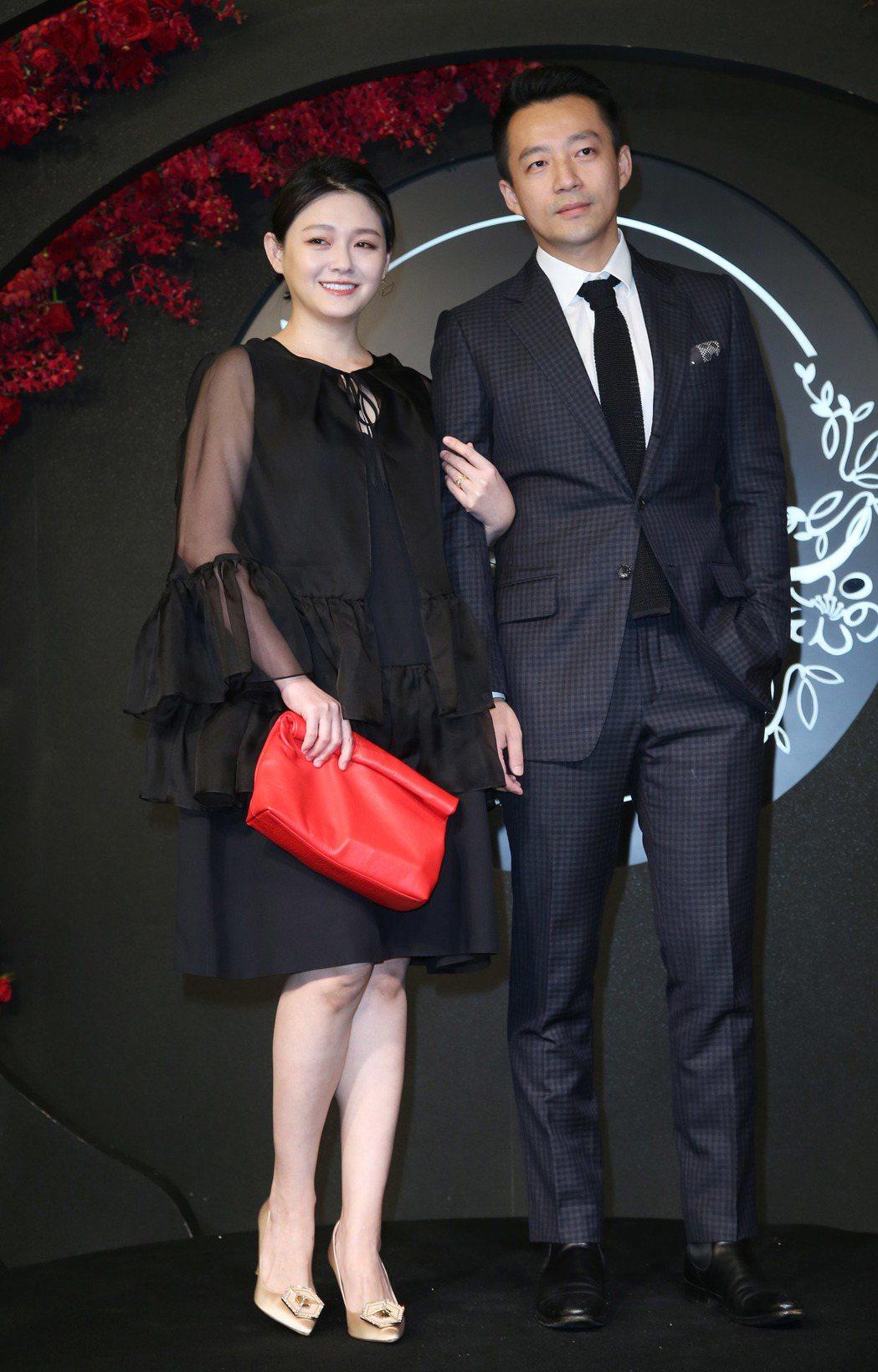大S夫婦出席安以軒婚禮台北場。記者陳瑞源/攝影