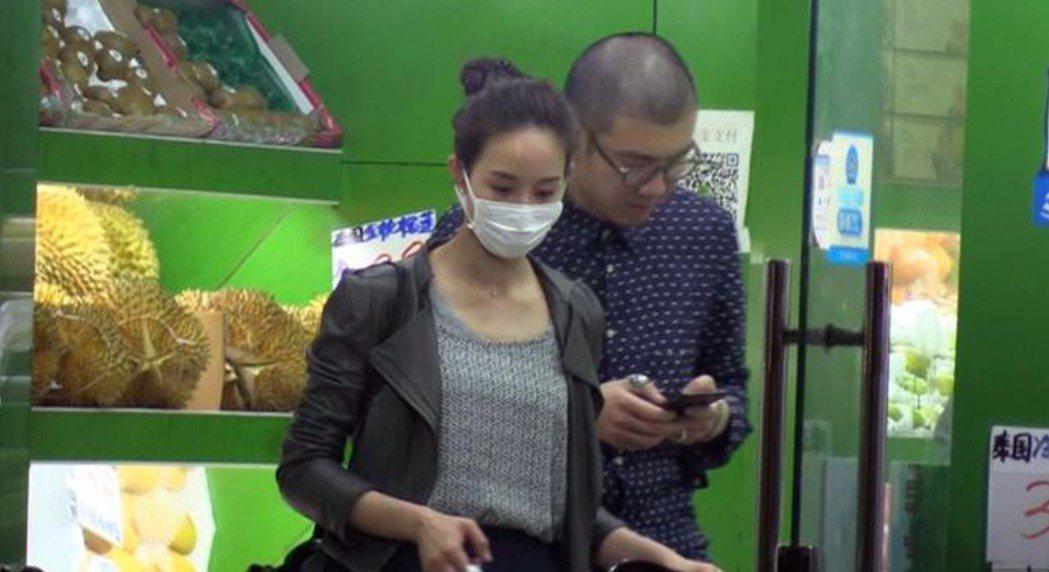 張鈞甯傳與關中前女婿林哲樂熱戀。圖/擷自秒拍