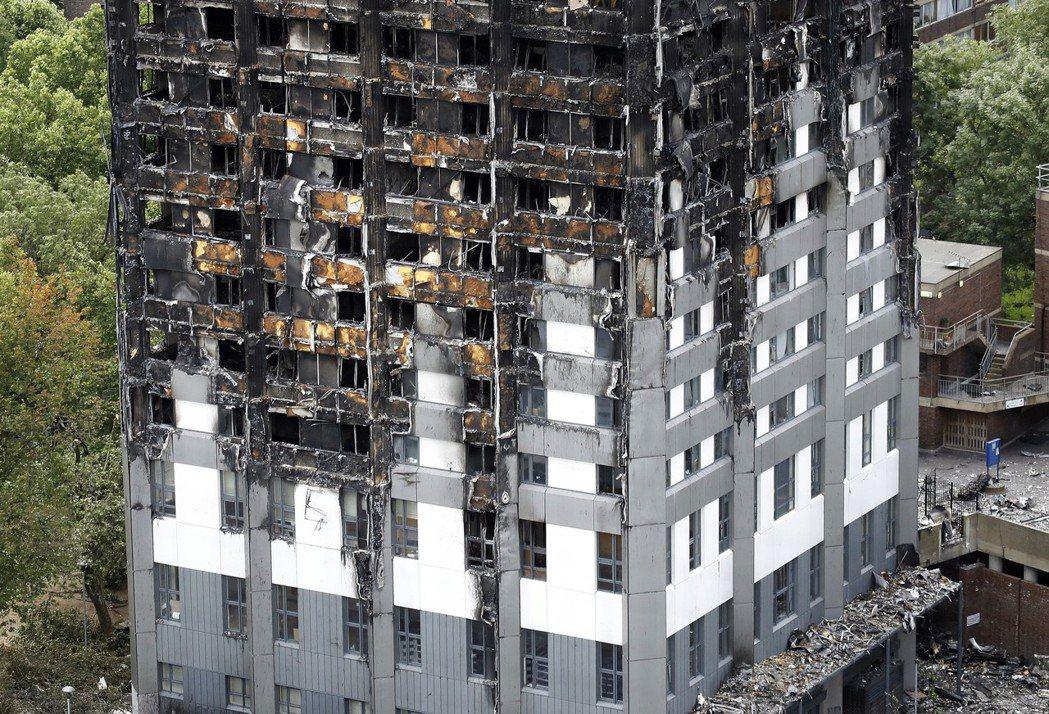 倫敦住宅大火查出起火點是一台故障的惠而浦冰箱。 美聯社