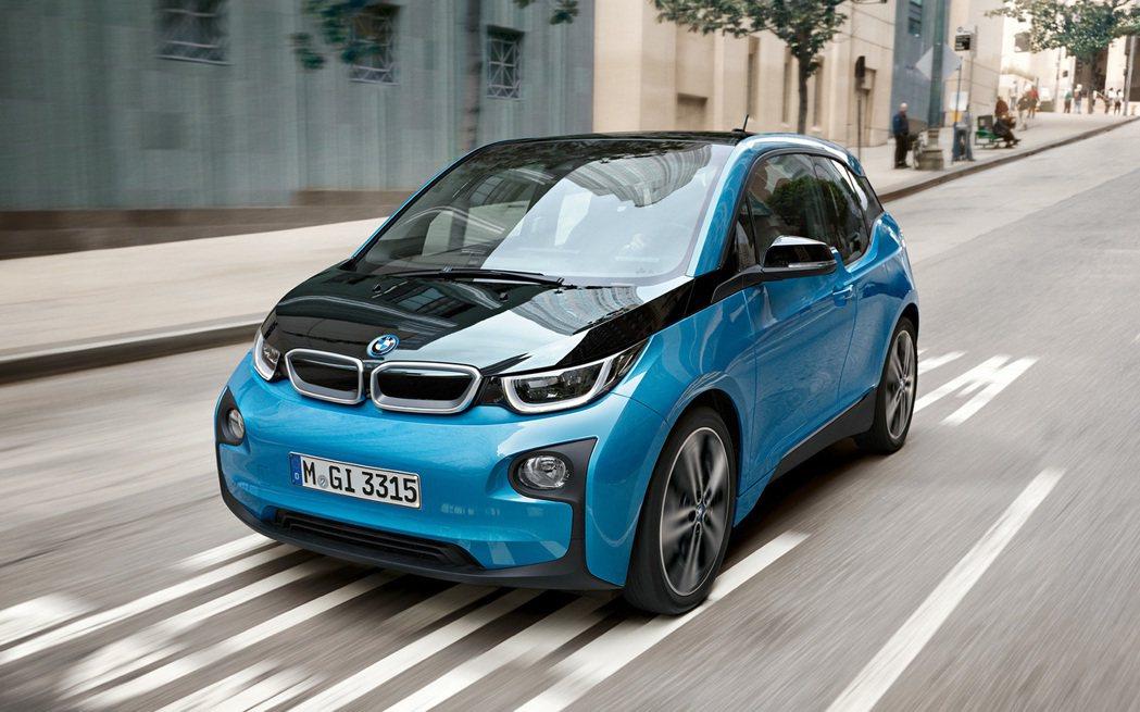 BMW i3成為年度都會風雲車獎項首次頒發的得主。圖/BMW提供