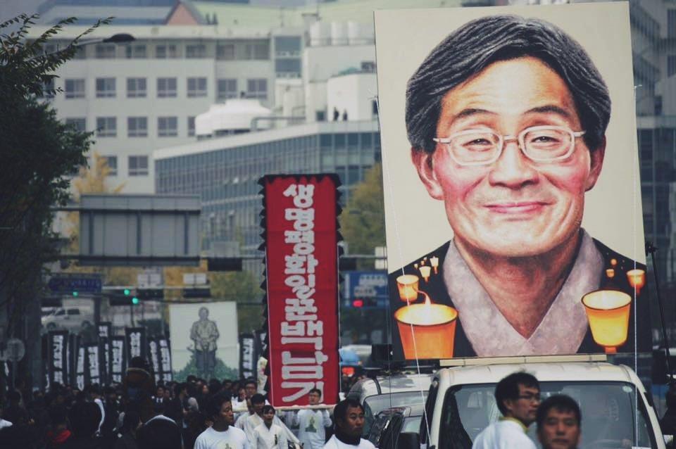 白南基的死因,能不能讓南韓深刻檢討公權力侵犯人權的問題? 圖/<a href='...