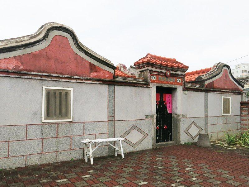 宥輯家的古厝已有超過70年歷史