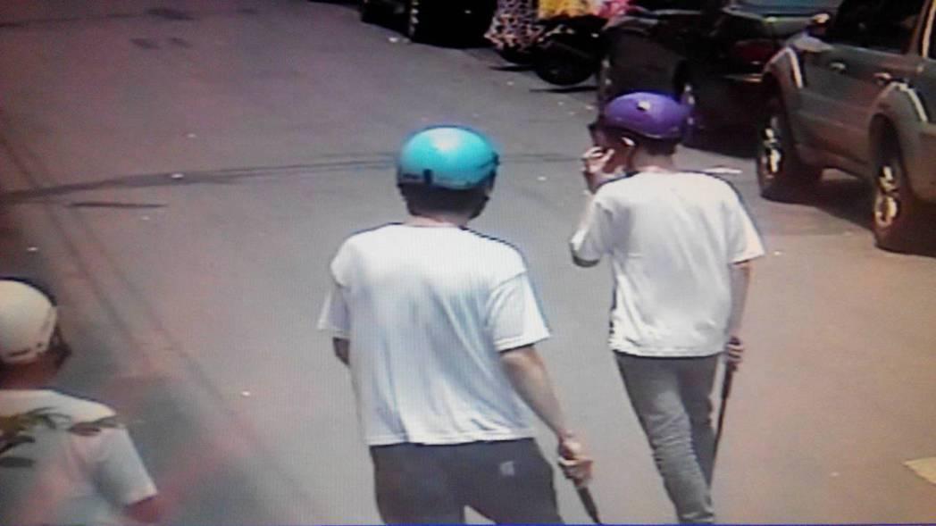 盧姓等四名男子被逮。圖/警方提供