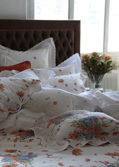 首由寬庭引進的華爾天使紗質料輕薄、柔軟、耐用,近年在台灣寢具市場越來越受歡迎。在...
