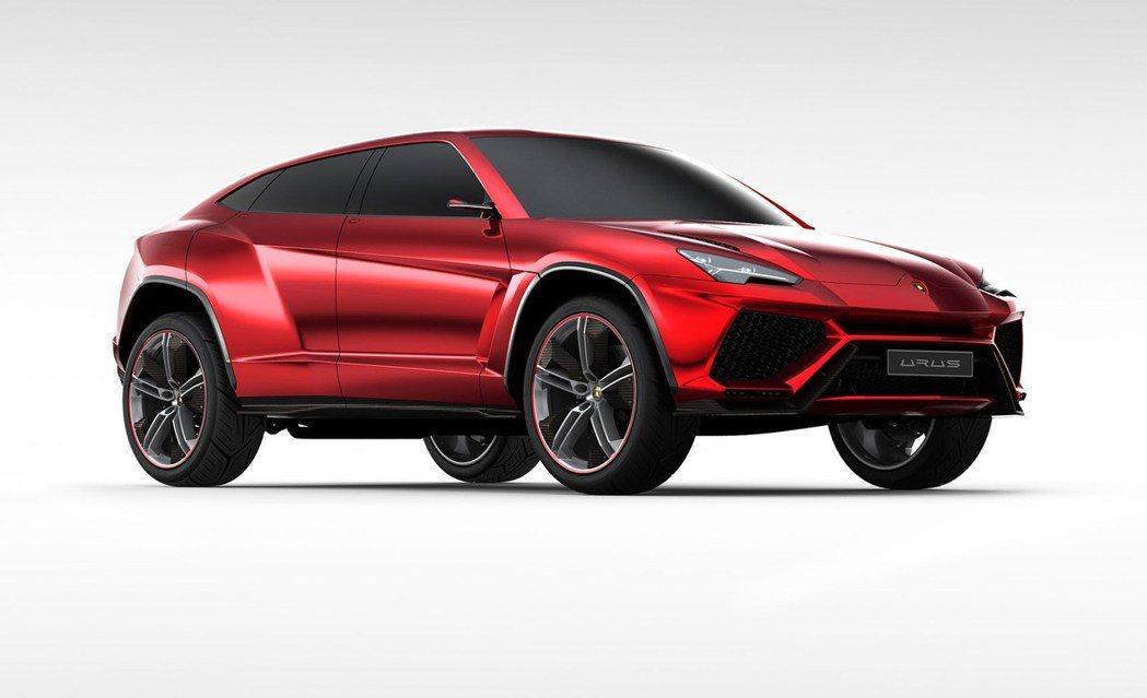 Lamborghini Urus Concept。圖/摘自carscoops.c...