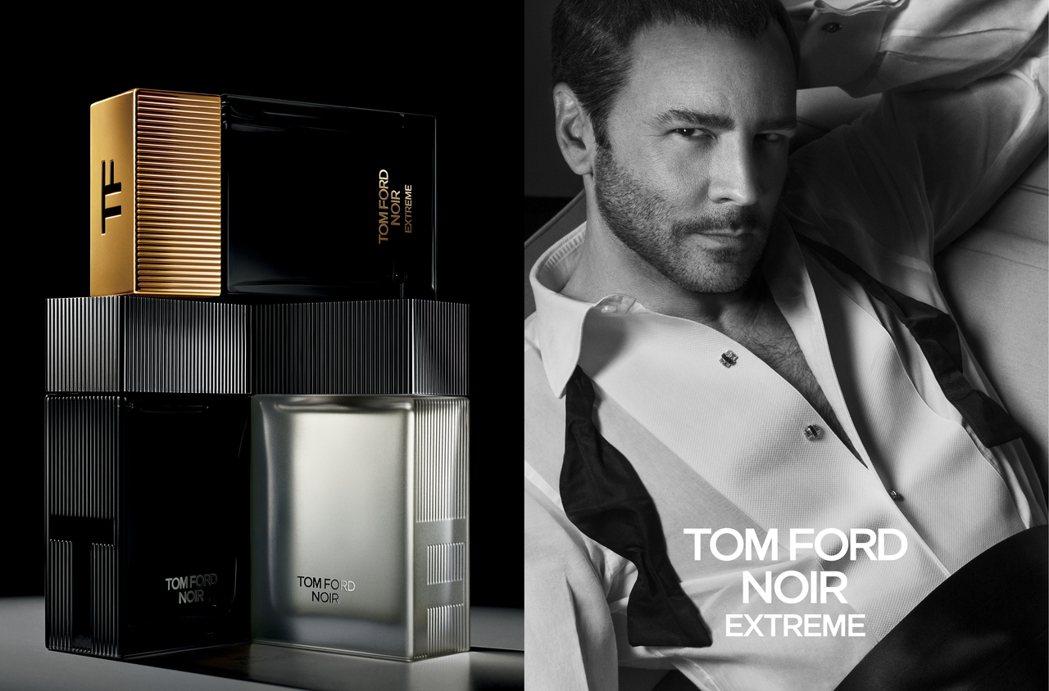 TOM FORD Noir Extreme設計師香氛系列每一款香氣都經典摩登。圖...