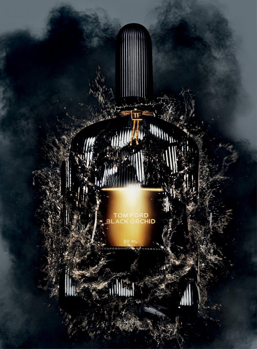 BLACK ORCHID經典黑蘭花香水是TOM FORD的第一款經典香氛。圖/T...