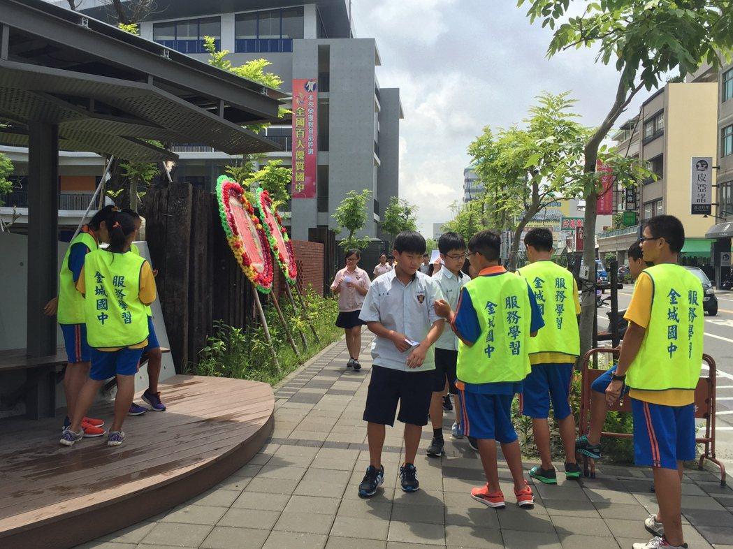 台南市金城國中推動運動有成,榮獲本位體育課程潛力學校。圖/金城國中提供