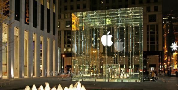 蘋果專賣店資料照。(百度圖片)