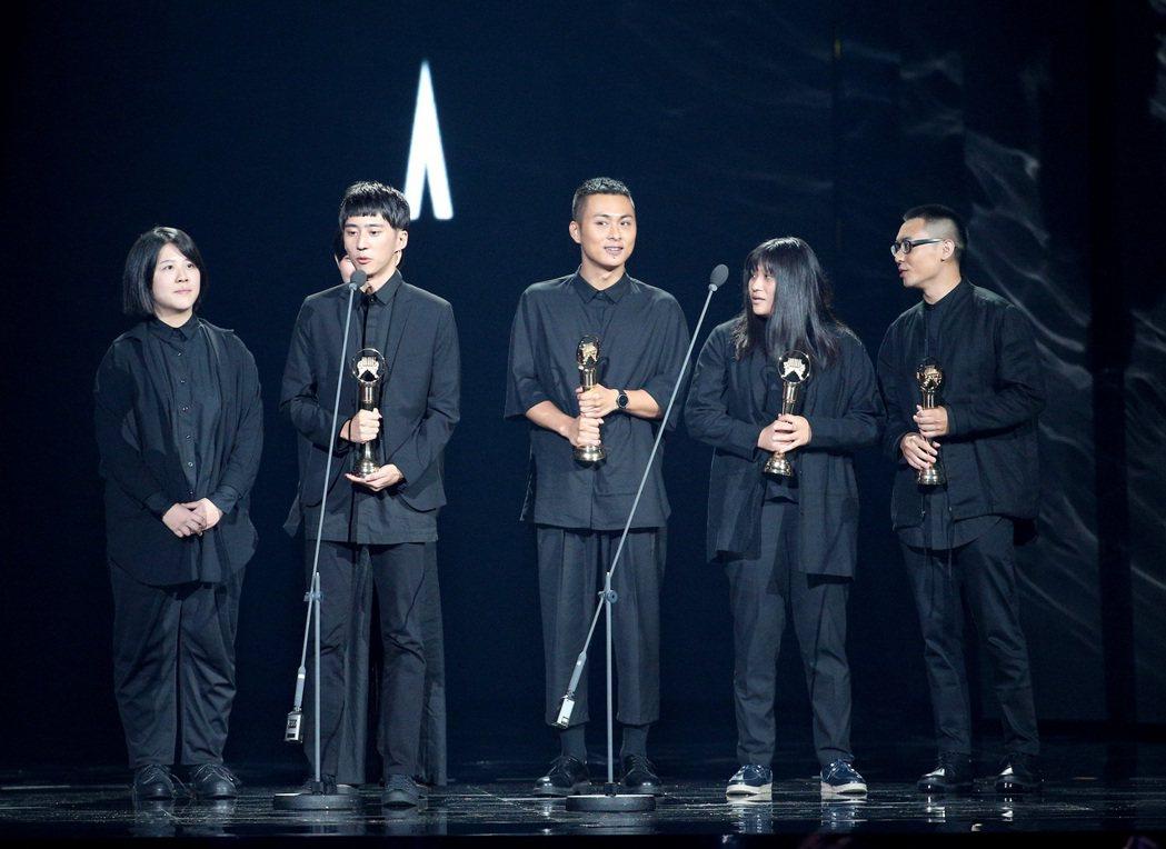 草東沒有派對獲得最佳新人獎。記者林伯東/攝影