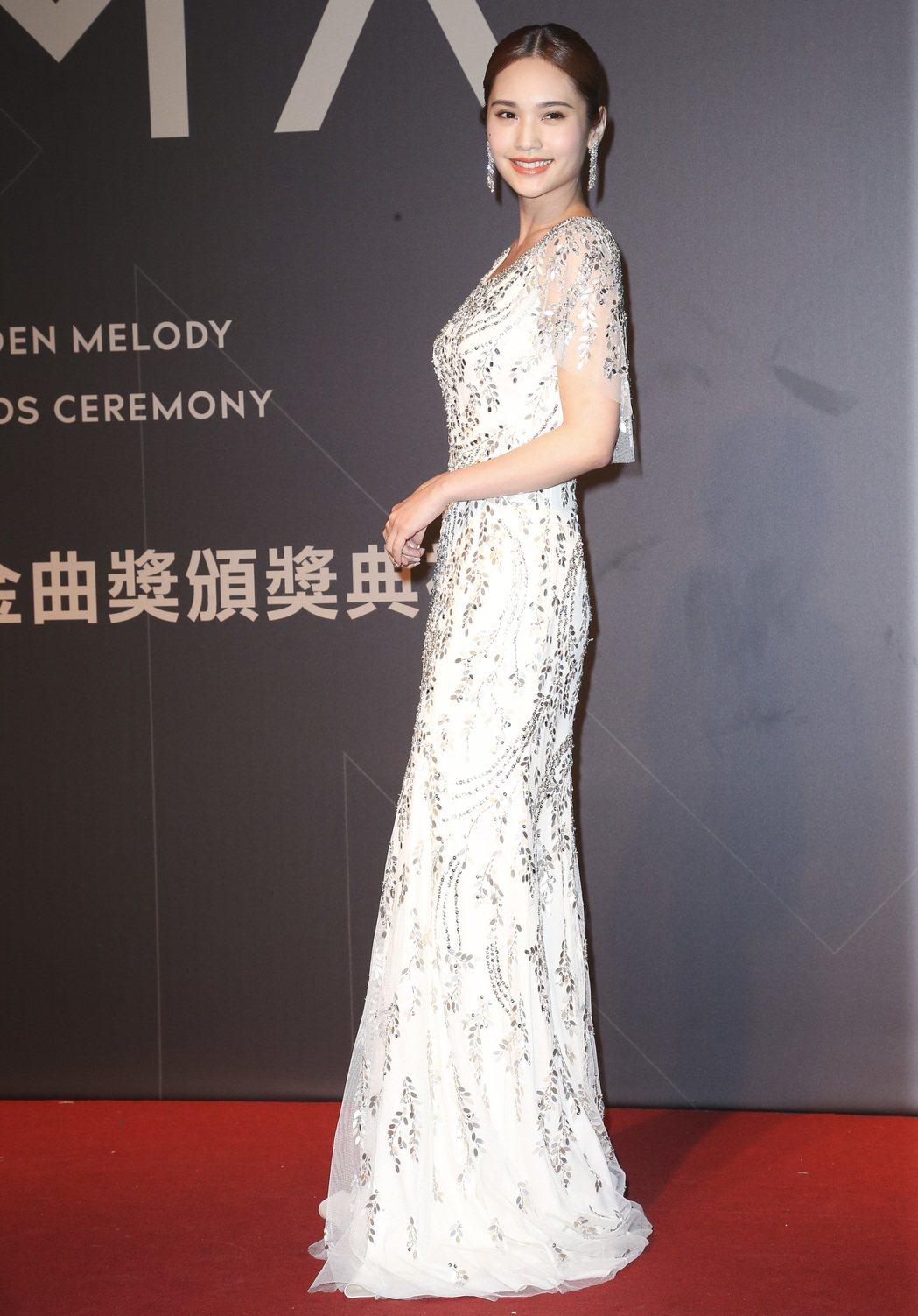 28屆金曲獎,楊丞琳走星光大道。記者陳立凱/攝影