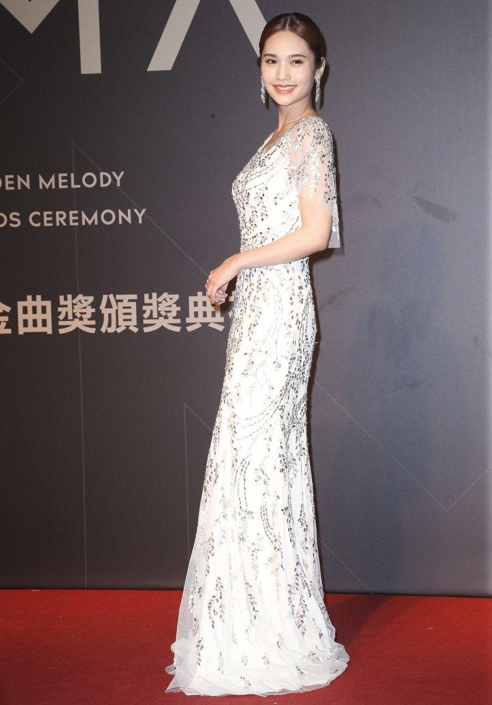 28屆金曲獎,楊丞琳走星光大道。圖/記者陳立凱攝影