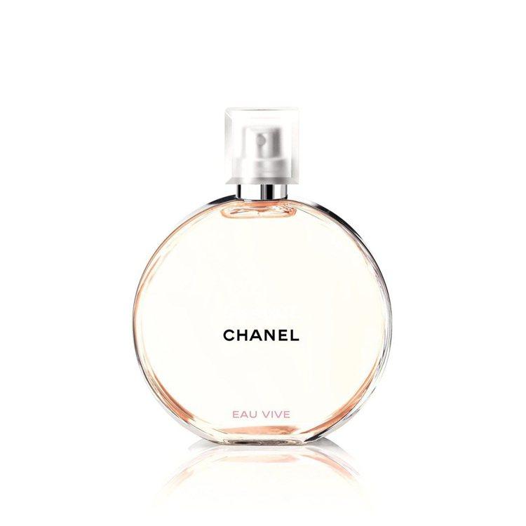 CHANCE橙光輕舞淡香水,50ml/3,300元、100ml/4,650元。圖...