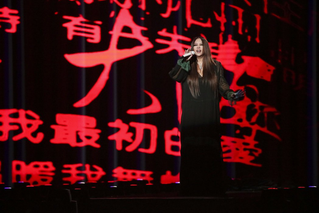 第28屆金曲獎,張雨生獲得特別貢獻獎,由張惠妹演唱雨後星空。記者陳立凱/攝影