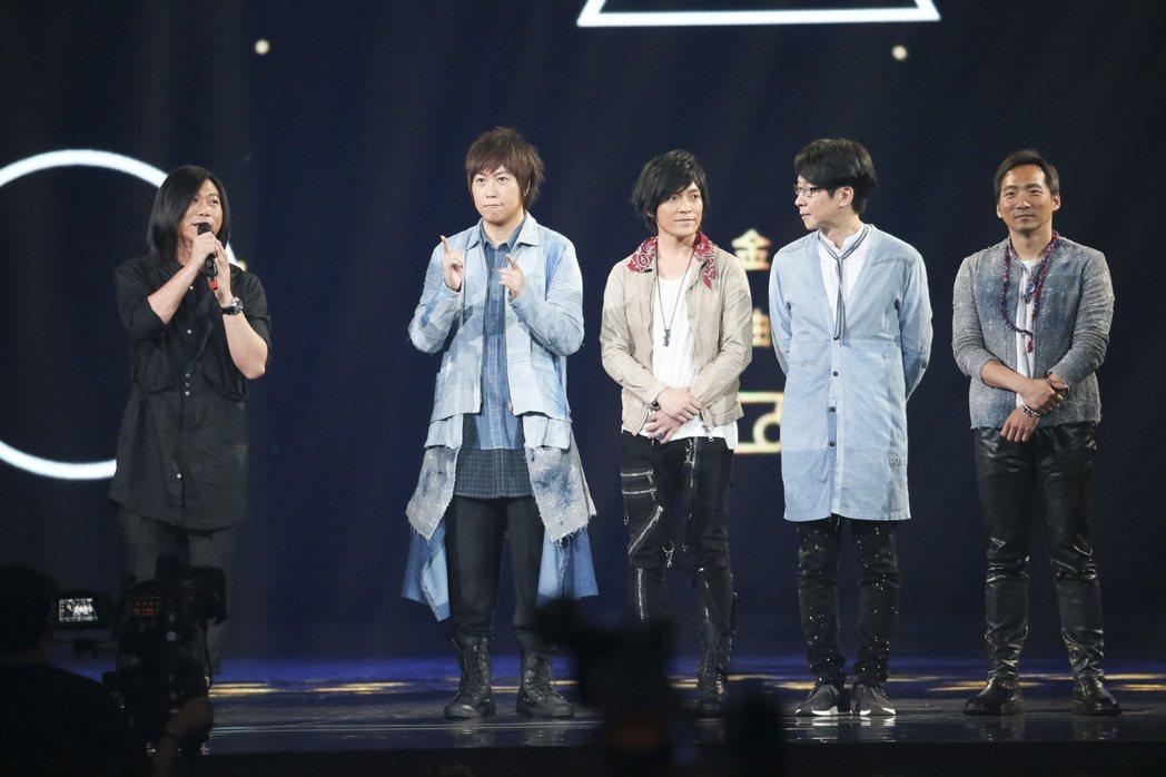 第28屆金曲獎,五月天獲得最佳國語專輯獎。記者陳立凱/攝影